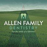 Logo for Allen Family Dentistry, a customer of Strategos Solutions LLC
